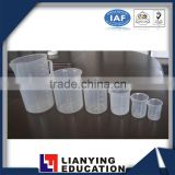 Plastic Beaker for chemical teaching instrument