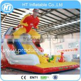 Colorful Inflatable Superman Bouncers,Inflatable Combo ,inflatatble Jumping Slide for sale