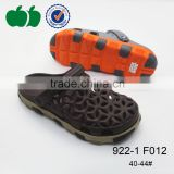 Trendy fashion comfortable men holey clog garden shoes