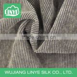 grey11wale poly corduroy fabric, man suit fabric, garment material