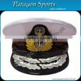 Greek Navy Officer Admiral Peaked Cap