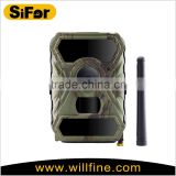 Willfine 3.0CG Solar Powered Outdoor Waterproof Wirelss Night Vision 3G Hunting Cameras GSM