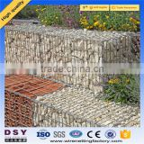 Trade assurance alibaba Factory supply galvanized square welded gabion box, wire cages rock retaining wall