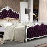 gold leaf furniture / dubai bed furniture YB66