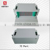 12/24/48/72/96/144 cores ODF fiber optic patch panel spelice tray distribution frame with SC connector