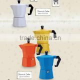 Wholesale Italian Style Aluminum Coffee Machine