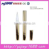 LT125-B4 glossy GOLD empty twist mechanism lip gloss pen