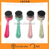 Long Handle Bamboo charcoal Synthetic Wool Facial Brush Cleanser