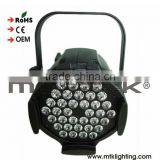 Wireless dimmable LED Multipar stage lighting Indoor 36*4W 4IN1 RGBW DMX control LED PAR CAN