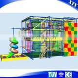 2016 New outdoor playground equipment high ropes course adventure                                                                         Quality Choice