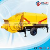 ISO9001 small trailer electric driven concrete pump for sale