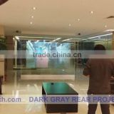 Free fedex Delivery cost clear Adhesive Rear Projection Screen film, for 3d hologram display,EVENT