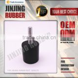 NBR Rubber Bumper Rubber Vibration Absorber/Anti Vibration Mount/Rubber Cylindrical Mounts Rubber Bumpers(with screw)