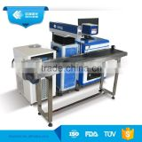 Air Cooling 10w 20w 30w 50w Fiber Laser Marking Machine For Ruler