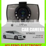 "G30 Night Vision Car DVR 1080P 170 Degrees Car Recorder Glass Lens Car Camera DVR Recorder Novatek 96650 With h.264 2.7"" Lcd"