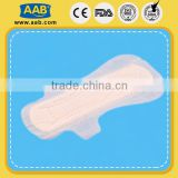 Breathable PE back sheet 330mm black paper sanitary napkin brands