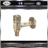 China Manufacturers Best Price Bathroom Wash Mixer Antique Brass Bibcock