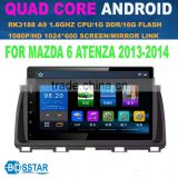 CHEAP 10.2 inch android smart car audio system with gps,SWC,RADIO,BT MIRROR LINK 3G AND WIFI