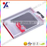 new design plastic ipad mini case/cell phone case packaging box with blister tray inside and plastic hanger