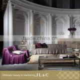 AS10-09 Luxury Upholstered Sofa In Living Room Classic Furniture From JLC Luxury Home Furniture