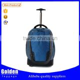 wholesale new design high-quality 17 inch trolley backpack single trolley bags two wheels travel backpack