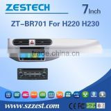 ZESTECH wholesale Chinese 2 din car dvd for Brilliance H220 H230 with car dvd stereo radio BT/TV AM/FM