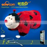 HOT Toy! Foldable Plush Beatle Music Pillow Patterns! - CE SGS ROHS
