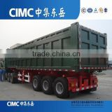 CIMC 3 Axles End Tipper Trailer for hot sell