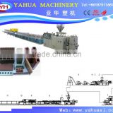 wood plastic wall panel production line, wood polymer composite profile machine, wood-plastic composite