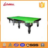 China wholesale and factory HOT SALE in French,Russian, America Presidential Billiard Tables for sale LJ-9708