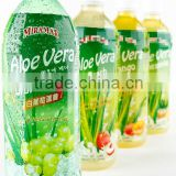 PET Aloe Vera Juice flavor: original, honey, pineapple, coconut, mango, peach