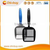2016 New Design Cat litter Scoop with Teeth, Durable Aluminum Metal Cat litter Scoop than Plastic Cat Litter Scoop