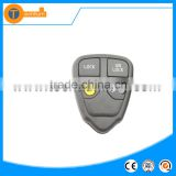 high quality remote key fob with 4 button including one yellow button no logo with letter on back for volvo v70 s40 xc60 v40