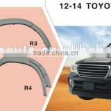 Wheel arch new ABS material muscle style fender flare for fender flare for toyota land cruiser 80
