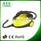 high quality professional canister steam cleaner with cord rewinding for lampblack machine cleaning