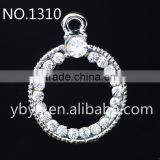 mutilpropose alloy hang ring for jewelry making in yiwu market-1310