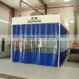 JF auto sand spay booth polish paint room automotive machine for sale( CE certification 2 years warranty time)
