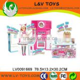 2013 Hot Selling High quality Plastic Doll Set about Kitchen as gift for kids play with EN71