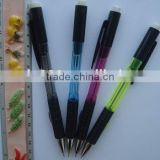 custom high quality automatic pencil mechanical pencil with rubber grip
