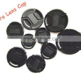 Center-pinched Front Cap DSLR Camera Lens Cap 55MM