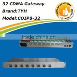 New design auto rotate cdma gateway 8 port 32 sim voip gateway,8 port gsm gateway (built-in antenna)