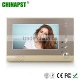China good price installation interphone 7 inch LCD monitor Handsfree doorbell color video door phone system PST-VD975CN