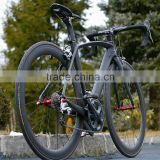 china Full carbon fiber road bike,6800 group set 22 speeds cheap carbon fiber bicycle,complete carbon bike Hot on sale
