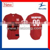High Quality Blank Baseball Jersey Wholesale Custom Made Baseball Jerseys Dri Fit Baseball Jersey