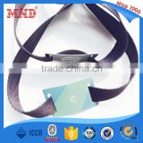 MDWW44 Cheap custom fabric woven RFID wristband/ NFC wristband/ RFID wristband for events