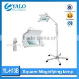 10x YL-H13B Vertical Magnifying Lamp Cosmetic Optical Glass LED Magnifying Lamp Vertical