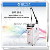nd yag laser beauty with hand piece for sale
