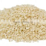INDIAN WHITE HULLED SESAME SEEDS