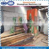 Vertical panel band saw sawmill with electric engine made in China