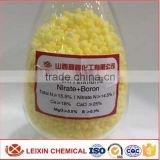 Factory price Calcium ammonium nitrate boron fertilizer yellow granular Agriculture use